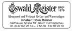 Oswald Meister