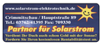 Partner für Solarstrom