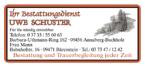 Bestattungsdienst Schuster