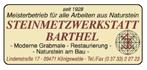 Steinmetzwerkstatt Barthel