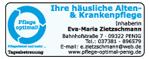 Pflege optimal! Häusliche Alten- & Krankenpflege Zietzschmann