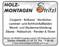 Holzmontagen Stritzl