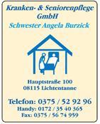 Kranken- & Seniorenpflege GmbH A. Burzick