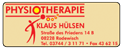 Physiotherapie Hülsen