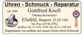 Uhren - Schmuck - Reparatur Knoll