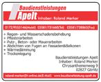 Baudienstleistungen Apelt