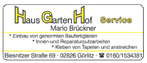 Haus Garten Hof Service Brückner