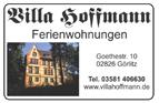 Villa Hoffmann Ferienwohnungen