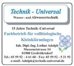 Technik - Universal