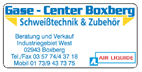 Gase-Center Boxberg