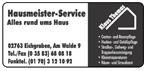 Hausmeisterservice Klaus Thomas