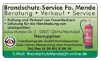Brandschutz-Service Fa. Mende