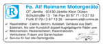 Motorgeräte Reimann