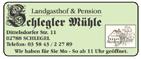 Lansgasthof & Pension Schlegler Mühle