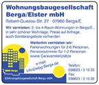 Wohnungsbaugesellschaft Berga/Elstner GmbH