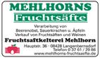 Mehlhorns Fruchtsäfte