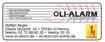 Oli-Alarm