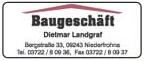Baugeschäft Dietmar Landgraf