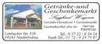 Getränke- und Geschenkemarkt Siegfried Wagner