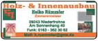 Holz- & Innenausbau Heiko Rümmler