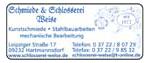 Schmiede & Schlosserei Weise