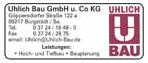 Uhlich Bau GmbH u. Co KG