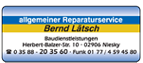 allgemeiner Reparaturservice Lätsch