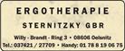 Ergotherapie Sternitzky GbR