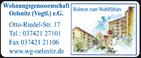 Wohnungsgenossenschaft Oelsnitz (Vogtl.) e.G.