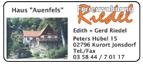 Haus Auenfels Ferienwohnung Riedel