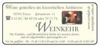 Weinkehr