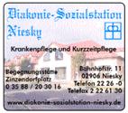 Diakonie-Sozialstation Niesky