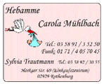Hebamme Carola Mühlbach