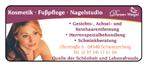 Kosmetik · Fußpflege · Nagelstudio Weigel