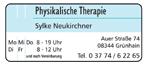 Physikalische Therapie Neukirchner