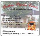 Gasthaus Paprika Csárda
