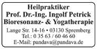 Heilpraktiker Prof. Dr.-Ing. Petrick