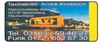 Taxibetrieb Knobloch