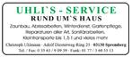 Uhli´s - Service
