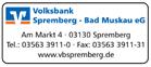 Volksbank Spremberg - Bad Muskau eG