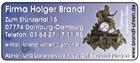 Firma Holger Brandt