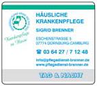 Häusliche Krankenpflege Sigrid Brenner