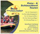 Kanu Tours Camburg