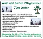 Wald und Garten Pflegeservice Jürg Lutter