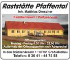 Raststätte Pfaffental Matthias Drescher