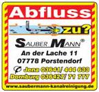 Sauber Mann