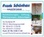 Haustechnik Frank Schönherr