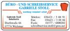 Büro - und Schreibservice Gabriele Stoll