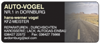 Auto - Vogel
