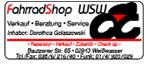 Fahrrad Shop WSW